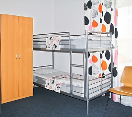 8 beds room, male (2nd floor)